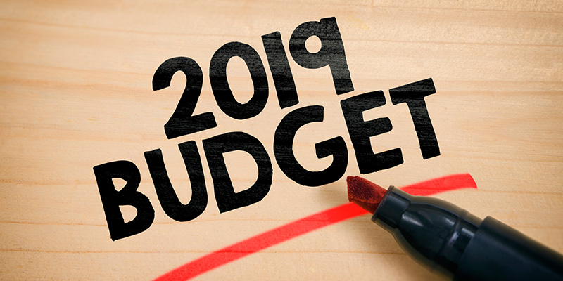 BlueRock Wealth Management Federal Budget 2019 Commentary